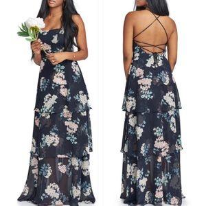 Show Me Your Mumu Calypso Strappy Tiered Dress